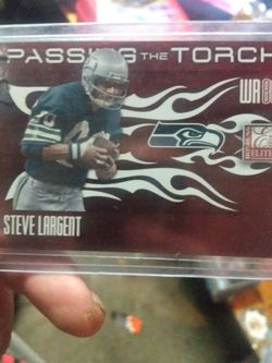 2010 PANINI STEVE LARGENT/WES WELKER LE for Sale in Yakima,  WA