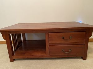 Solid Mahogany wood coffee table for Sale in Reynoldsburg, OH