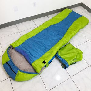 Brand New $15 Camping Sleeping Bag Waterproof Indoor & Outdoor Hiking Lightweight w/ Portable Bag for Sale in Downey, CA