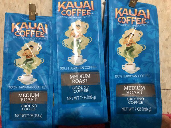Kauai Coffee Ground