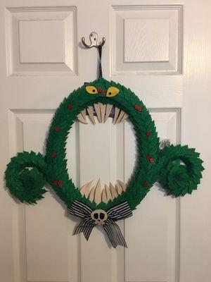 nightmare before christmas wreath for Sale in Las Vegas, NV