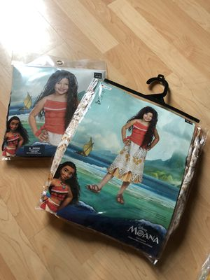 Moana Size M 7-8 year old with Wig NWT for Sale in San Jose, CA