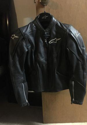 Women Alpinestars Stella road motorbike leather jacket for Sale in Highland Beach, MD