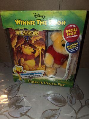 Winnie the Pooh Video & Plush Toy for Sale in Santa Clarita, CA