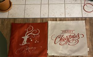 Christmas pillow covers for Sale in Marysville, WA