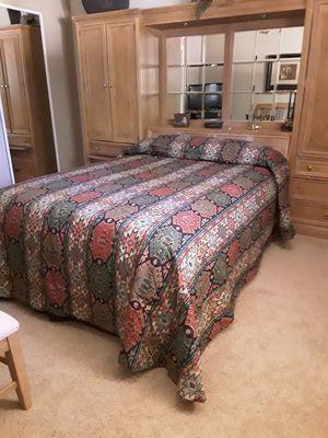 Custom queen bedspread for Sale in Pinetop, AZ
