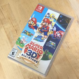 New - Nintendo Switch Super Mario 3D All Stars for Sale in Washington, DC