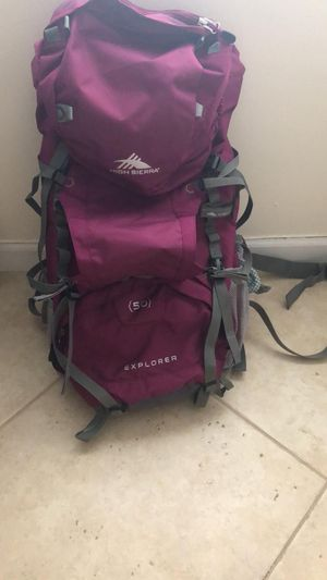 HighSierra 50lb BackPack for Sale in Weston, FL