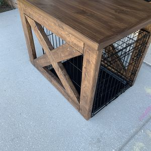 Customer Built Dog Crate for Sale in Riverview, FL