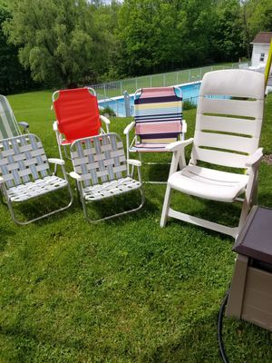 8 folding chairs for Sale in Moon, PA