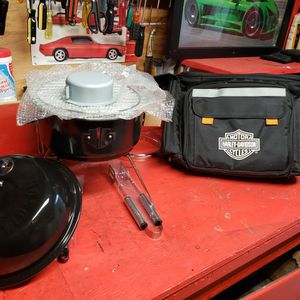 Harley Davidson Picnic Set And Grill New..!! for Sale in Vallejo, CA