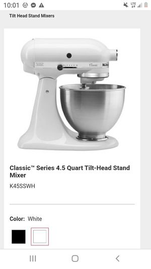 Classic series kitchen aid mixer for Sale in Hermon, ME