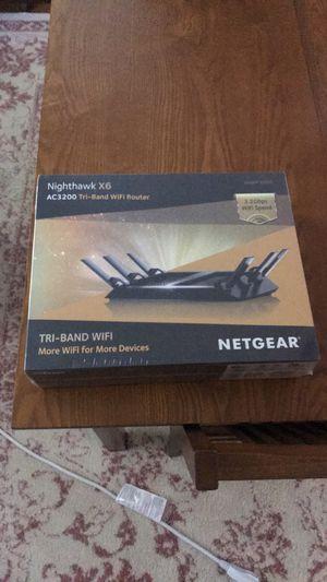 NETGEAR Nighthawk x6 AC3200 router for Sale in Newton, MA