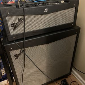 "Fender Mustang W/ 4x12"" Cabinet for Sale in Mableton, GA"