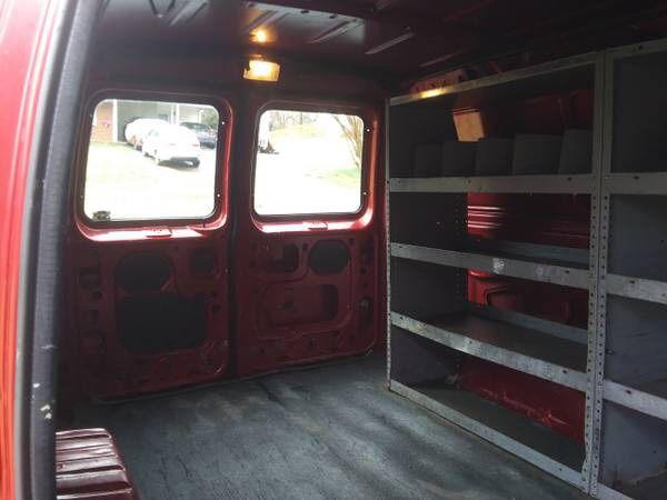 2002 Ford E-150 Cargo Van (LWB)