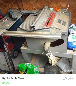 Ryobi Table Saw for Sale in Carnegie, PA
