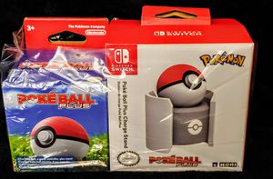 NINTENDO SWITCH POKEBALL PLUS AND CHARGING DOCK BRAND NEW SEALED for Sale in Escondido, CA