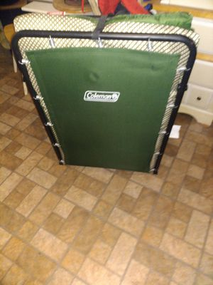 Coleman cot with mattress like new. 45? for Sale in Duncanville, TX