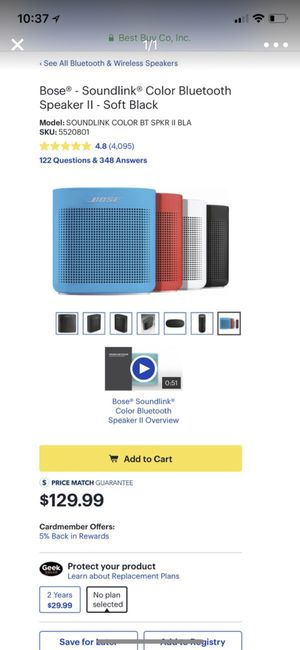 Bose wireless Bluetooth speaker for Sale in Orlando, FL