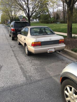 94 Toyota Corolla for Sale in Clarksburg, MD