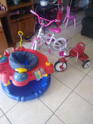 I actually have 2 of the same toddler girl bicycles. for Sale in Lakeland, FL