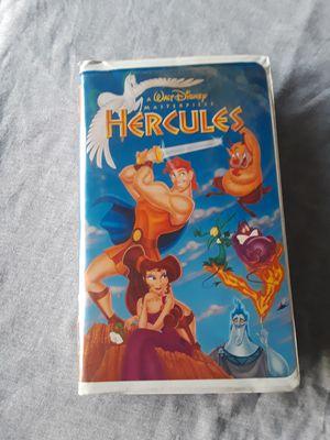 Disney Walt Disney Hercules VHS - VHS for Sale in Saginaw, TX