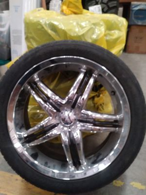 Incubus rim and tire set for Sale in Cohasset, CA