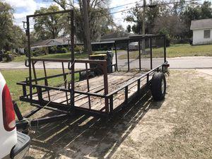 Traila 6x14 $1200 obo for Sale in Auburndale, FL