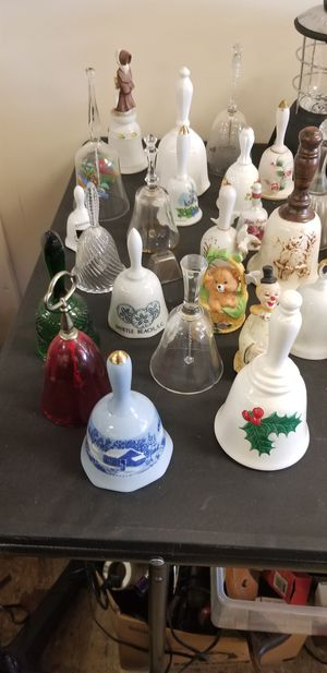 Porcelain And Glass Mini Bells Collection for Sale in Baltimore, MD