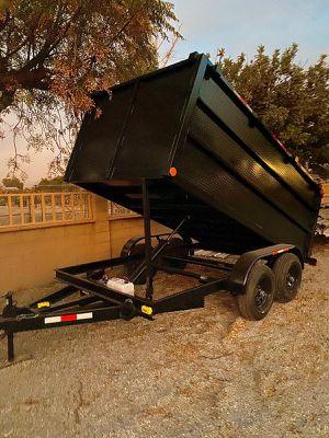 8x12x4 Dump Trailer for Sale in Fresno, CA