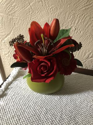 Red Floral Arrangement for Sale in Garden City, NY