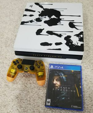 PS4 PRO 1TB Limited Death Stranding Console Playstation 4 system bundle for Sale in Denver, CO