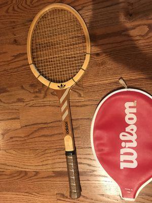 Wooden tennis racket for Sale in Ashburn, VA