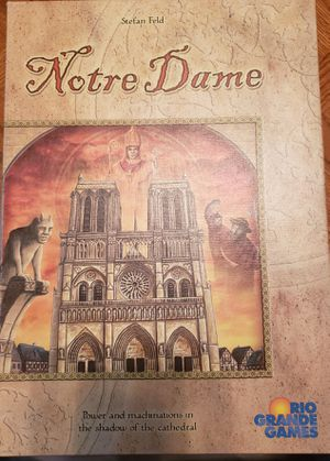 Notre Dame Board Game for Sale in Waterloo, IA