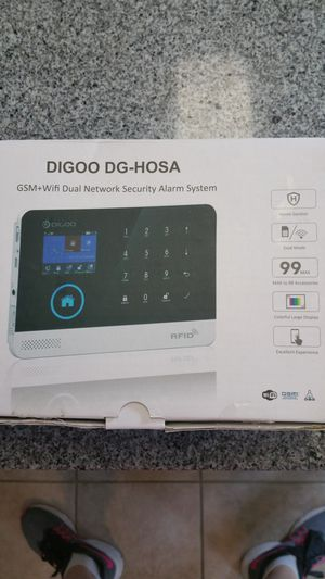 Digoo GSM+WiFi Dual Network Security Alarm System for Sale in Smyrna, TN