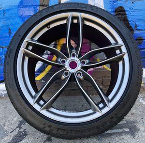 "Like New 20"" Ferrari 488 GTB Rear Wheel with Michelin Pilot Super Sport Tire for Sale in Los Angeles, CA"