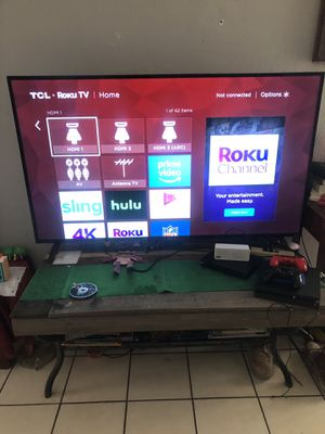 "65"" TCL ROKU TV 4K for Sale in Chandler, AZ"