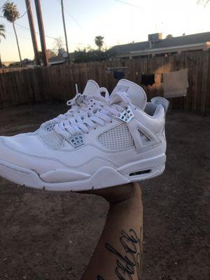 """Jordan 4's """"Pure Money"""" size 12 (HAS FLAW) for Sale in Phoenix, AZ"""