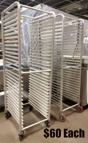 Assorted sizes racks and shelving for Sale in Mount Clemens, MI