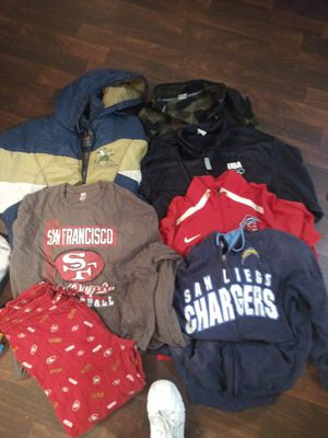 Mens assorted clothing for Sale in Lakeside, CA