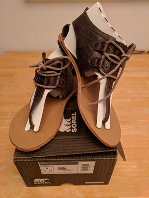 Sorel Summer Boot sandals, size 8 for Sale in Alexandria, VA