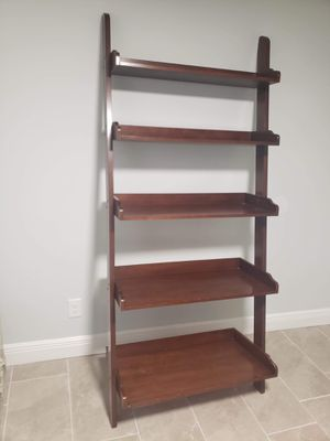 Wooden ladder shelf for Sale in Tampa, FL