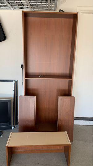 IKEA Brown shelf w/ all hardware & extra top shelf! for Sale in Litchfield Park, AZ