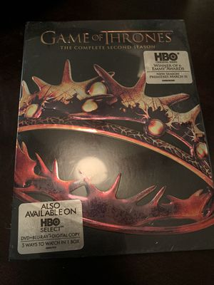 Season 2 game of thrones for Sale in Fontana, CA