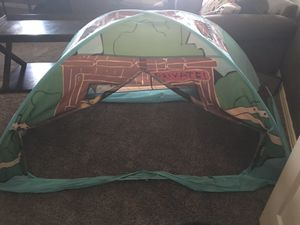 Twin camping theme bed tent for Sale in McKinney, TX