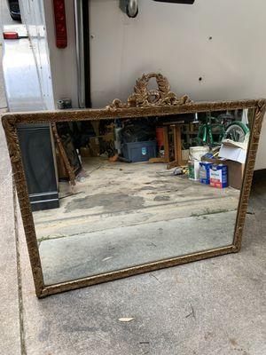 Antique mirror (heavy)! for Sale in Springfield, VA