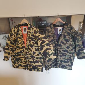 Bape kimono jacket sz L for Sale in South Brunswick Township, NJ