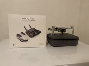 Brand new condition DJI mavic mini fly more combo with extras only flown 5 times for Sale in Temple Terrace, FL