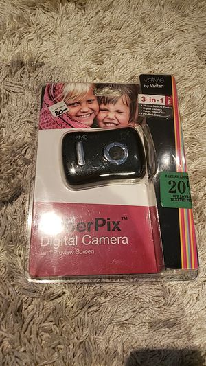 Cyberpix digital camera with preview screen for Sale in Medford, NY