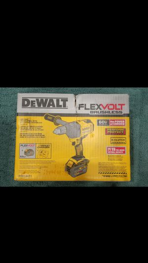DEWALT 60V MAX MIXER/DRILL WITH E-CLUCH SYSTEM KIT CON BATERIA 6.0 AH AND FAST CHARGER...NUEVO... for Sale in Los Angeles, CA